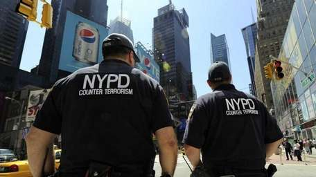 New York City Police Department Counter Terrorism Unit