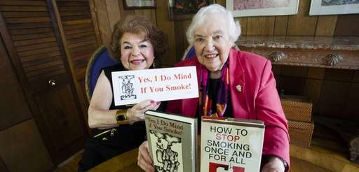 They mind if you smoke. Rhoda Nichter authored