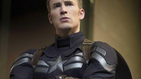 Chris Evans as Captain America/Steve Rogers in Marvel's