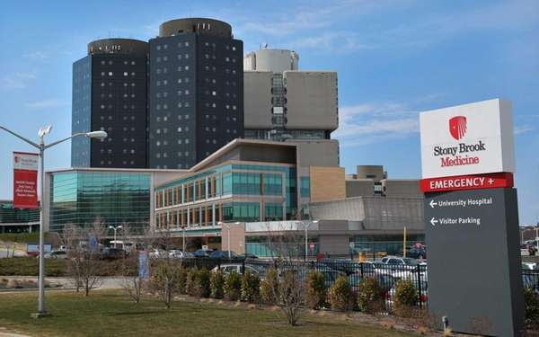 Stony Brook University Hospital on March 26, 2014.
