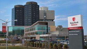 Stony Brook University Hospital on March 26, 2014.
