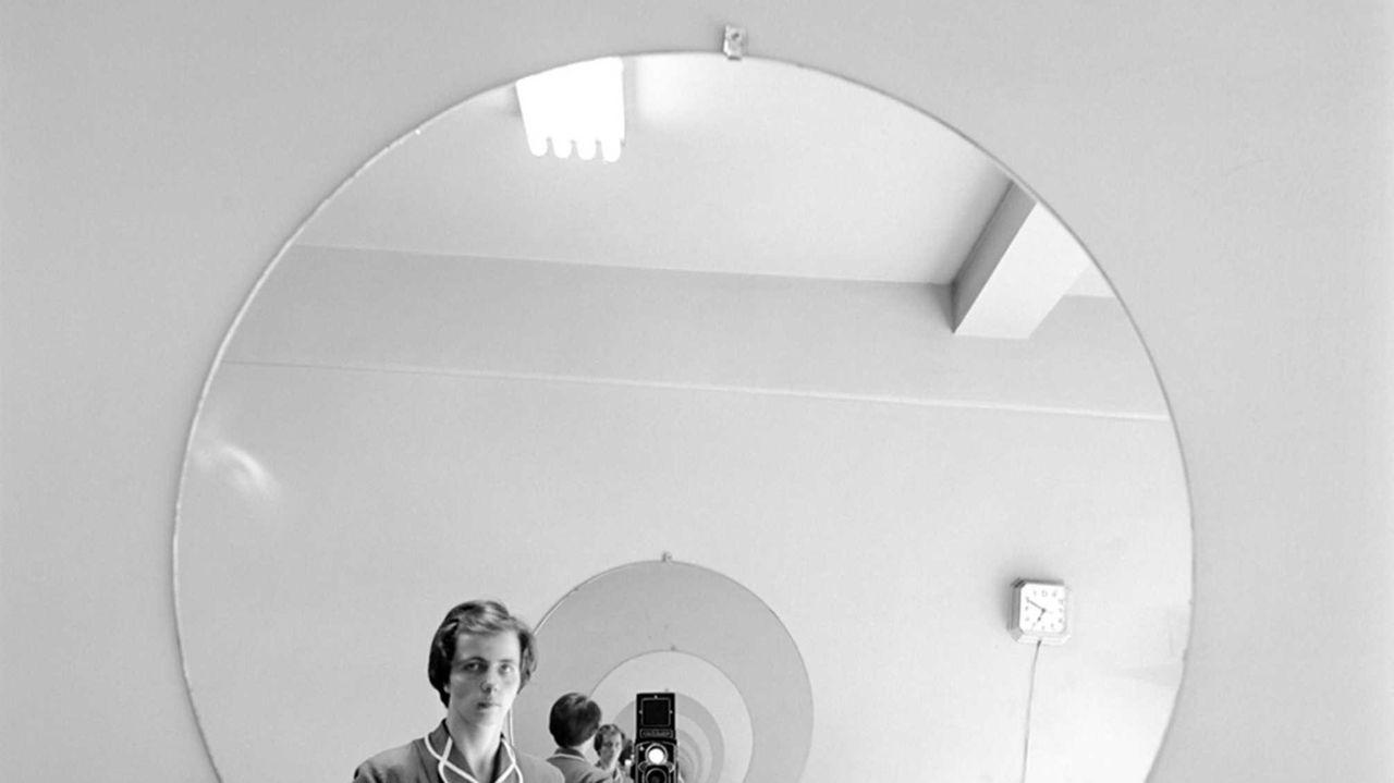 Vivian Maier self-portrait.