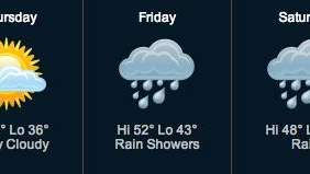 After unseasonably low morning temperatures, forecasters say the