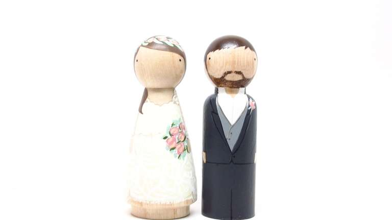 This custom made wooden topper from Goosegrease makes