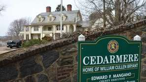 Cedarmere, the former home of literary figure William