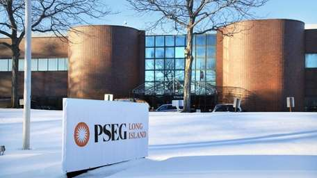 A view of the PSEG office building on