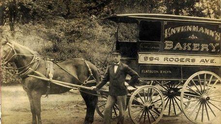William Entenmann, founder of Entermann's Bakery, Bay Shore,