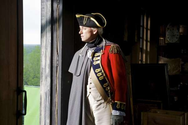 JJ Feild stars as John Andre in