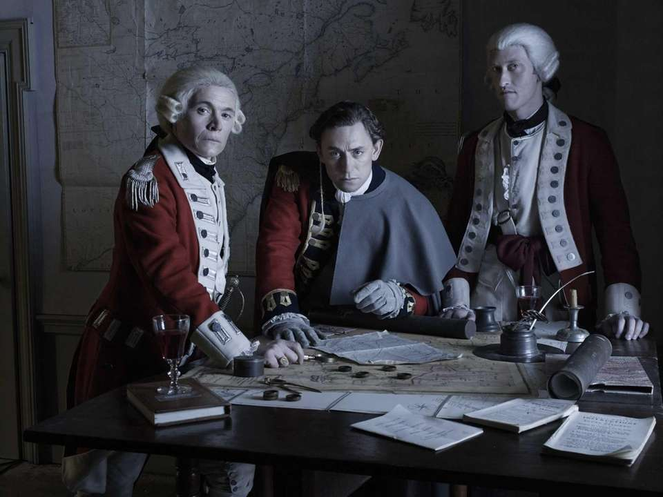 Major Hewlett (Burn Gorman), John Andre (JJ Feild)