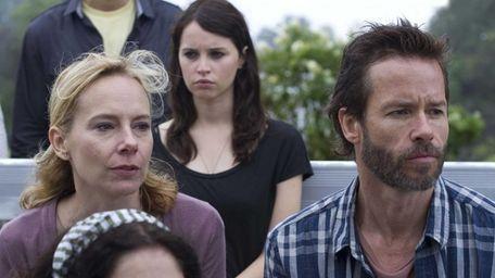 Amy Ryan, Felicity Jones and Guy Pearce in