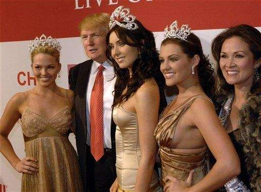 Donald J. Trump, owner of the Miss Universe