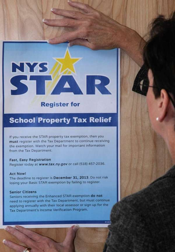 Tax breaks under the state STAR program average