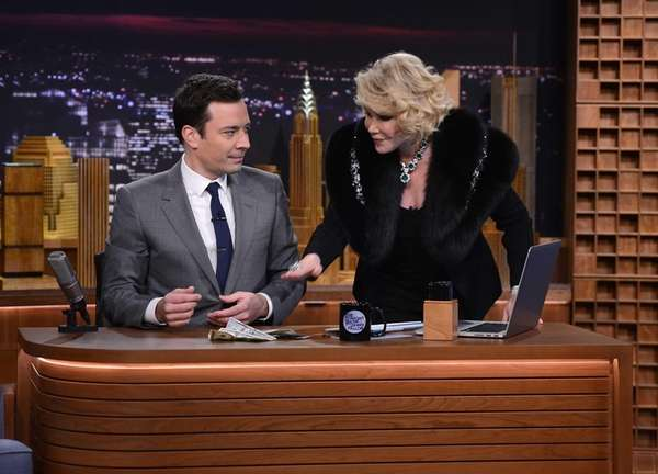Joan Rivers visits