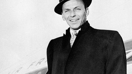 The legendary singer Frank Sinatra was born in