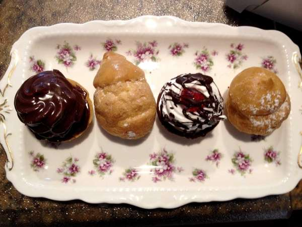 Cream puffs are among the excellent pastries at