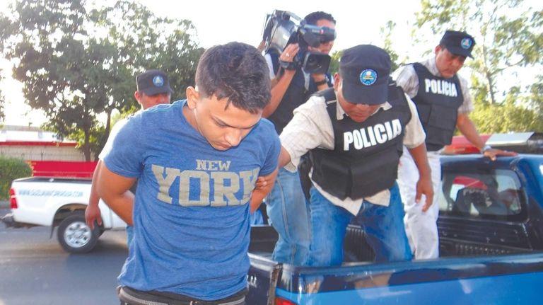Juan Garcia, 21, an alleged member of the