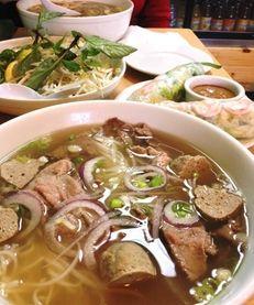 Rolling Spring Roll in Farmingdale serves pho (noodle