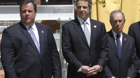 New Jersey Gov. Chris Christie and New York