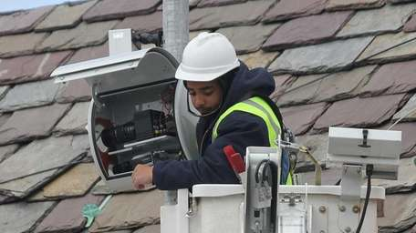 A technician from American Traffic Solutions who did