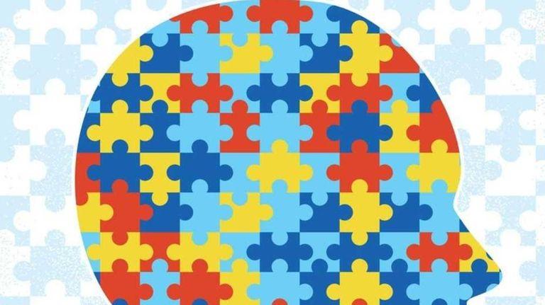 Illustration representing Autism.