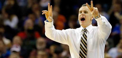 Head coach Billy Donovan of the Florida Gators