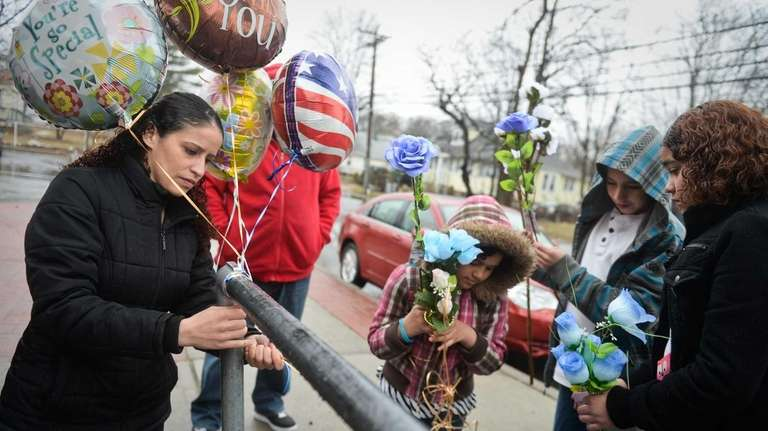 Milton Maldonado's sister Kenia Cruz, of Bay Shore,