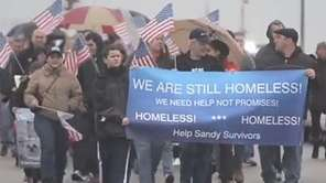 Citizens' group Sandy Victims Fighting FEMA held a