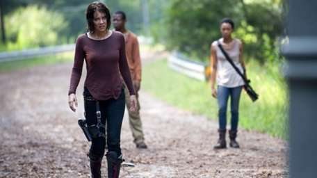 This undated image released by AMC shows Lauren
