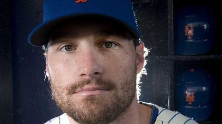 New York Mets Daniel Murphy infielder photographed during