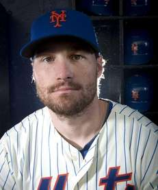 New York Mets Daniel Murphy infielder photographed during