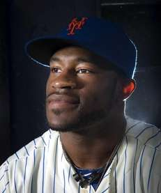 New York Mets Eric Young photographed during photo