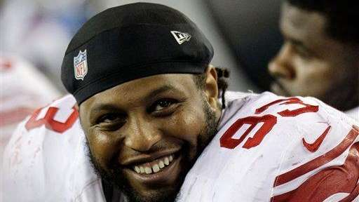 Giants defensive tackle Mike Patterson.