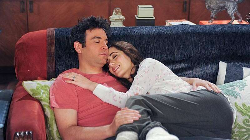 Josh Radnor as Ted, Cristin Milioti as The