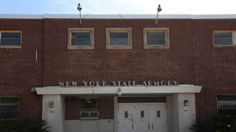 The New York State Armory on Barton Avenue