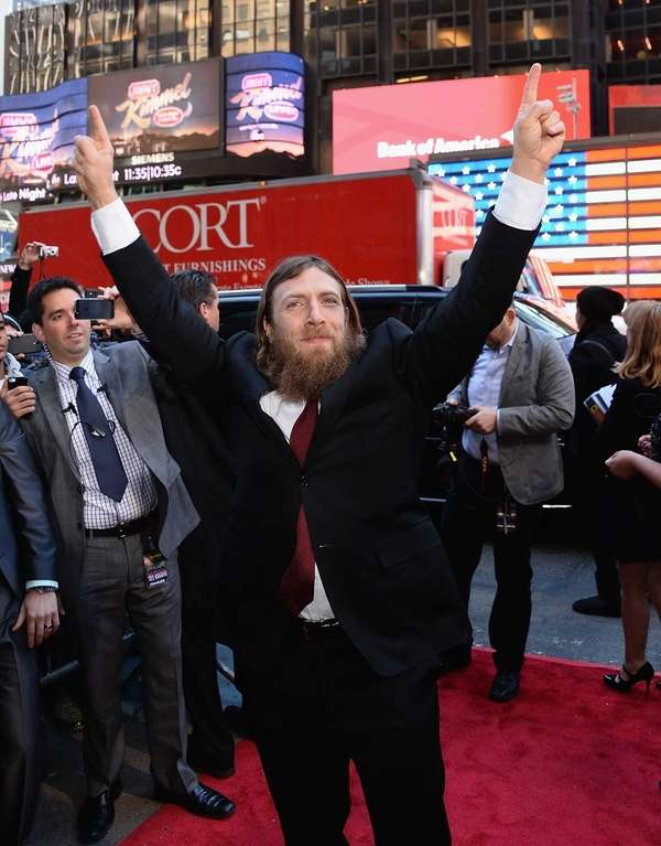 Daniel Bryan attends the WrestleMania 30 press conference