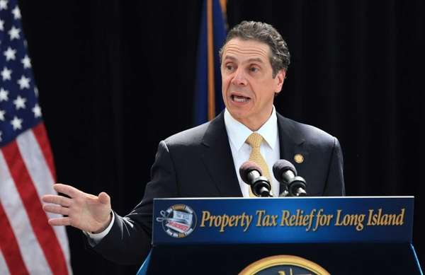 Gov. Andrew Cuomo discusses the on-time 2014-2015 state