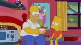 Both Bart and Homer made the cut in