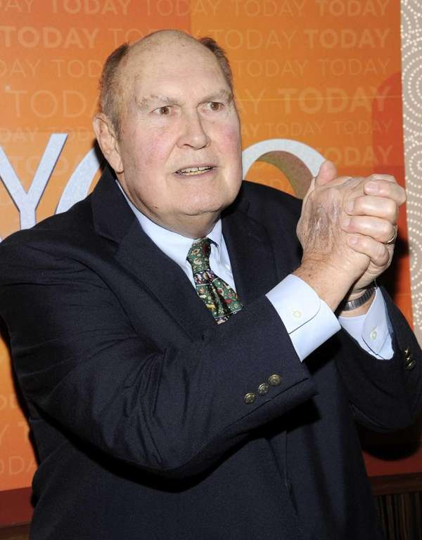 """Today"" show personality Willard Scott a the show's"