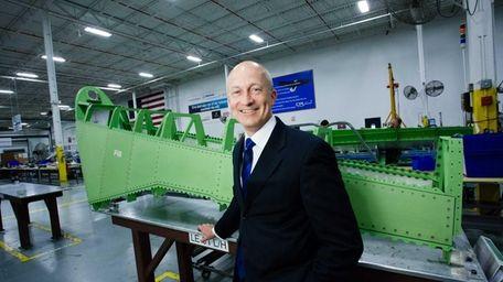 CPI Aero chief executive Douglas McCrosson on a