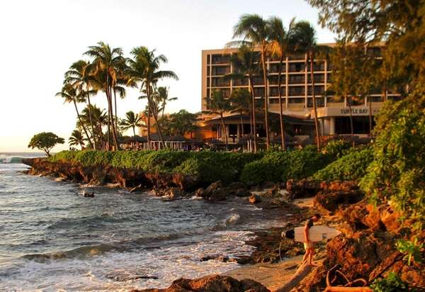 Turtle Bay Resort is the only big hotel