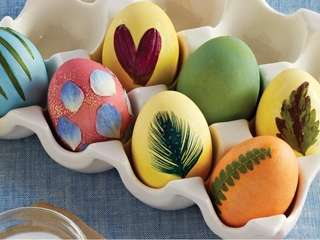Natural Easter egg dyeing tips from the April