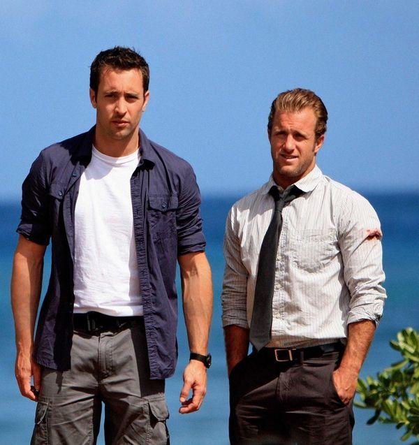 Scott Caan, right, as Detective Danny