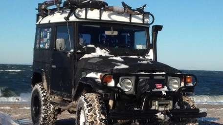1980 Toyota Land Cruiser FJ40 owned by Ed