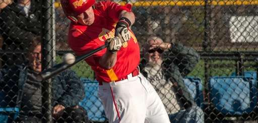 Chaminade's Luke Zeccola hits a triple and drives