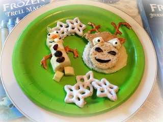 "The ""Frozen"" snack ideas can be found on"