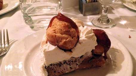 Gateau St. Honore is one of the desserts