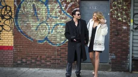 Michael Pitt as Tommy and Nina Arianda as