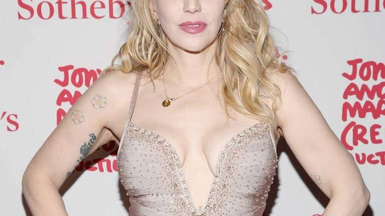 Courtney Love attends Jony And Marc's (RED) Auction