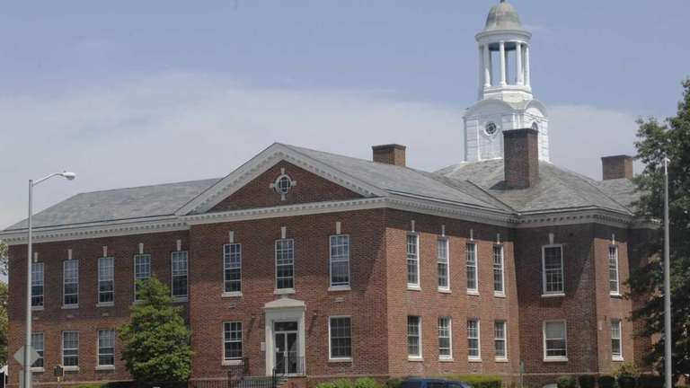Islip Town Hall West building in 2011. The