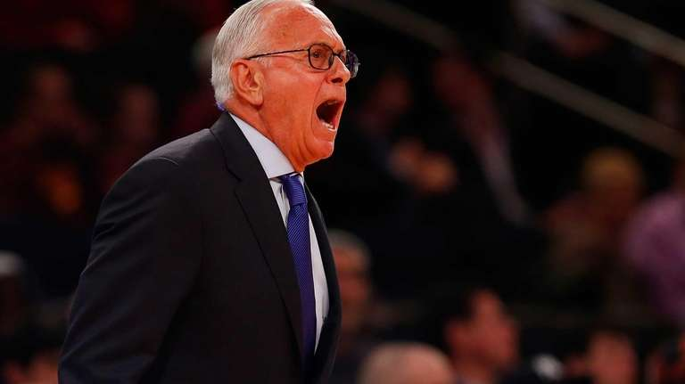 Head coach Larry Brown of the Southern Methodist